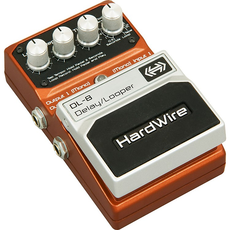 DigiTech HardWire DL-8 Delay/Looper Guitar Effects Pedal