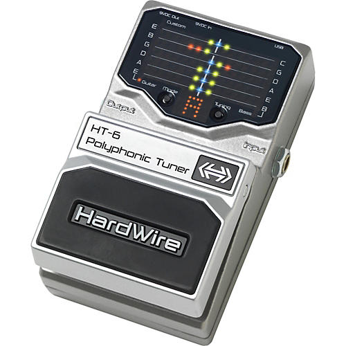 DigiTech Hardwire Series HT-6 Polyphonic Pedal Tuner-thumbnail