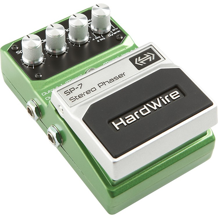 DigiTech Hardwire Series SP-7 Stereo Phaser Guitar Effects Pedal