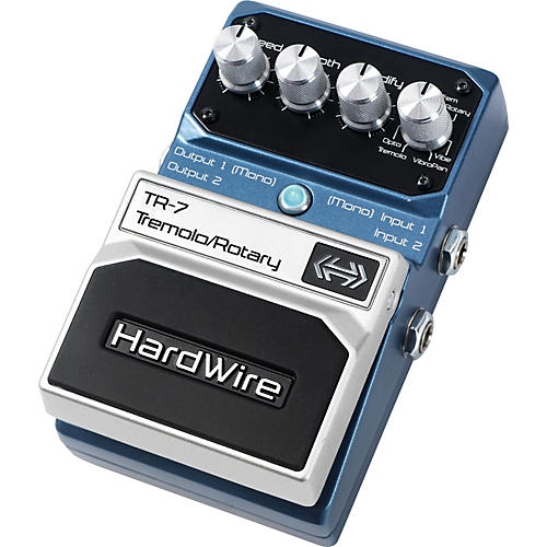 DigiTech Hardwire Series TR-7 Stereo Tremolo and Rotary Guitar Effects Pedal-thumbnail