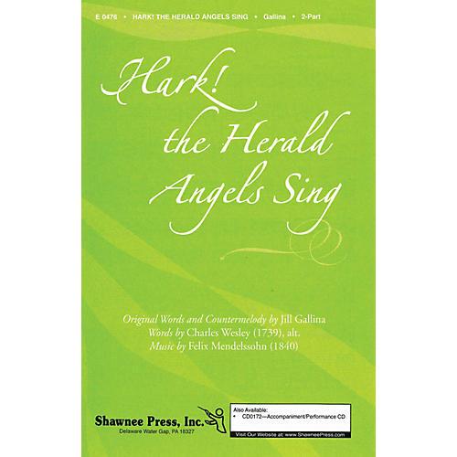 Shawnee Press Hark! The Herald Angels Sing 2-Part arranged by Jill Gallina-thumbnail