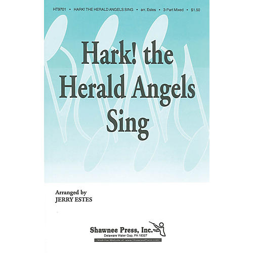 Shawnee Press Hark! The Herald Angels Sing 3-Part Mixed arranged by Jerry Estes-thumbnail