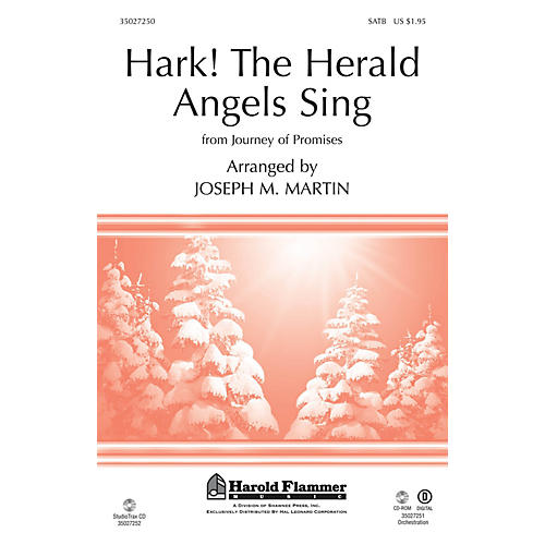 Shawnee Press Hark! The Herald Angels Sing (From Journey of Promises) ORCHESTRATION ON CD-ROM by Joseph M. Martin-thumbnail