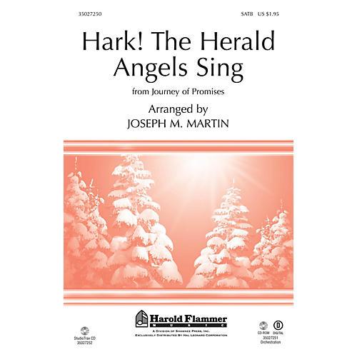 Shawnee Press Hark! The Herald Angels Sing (From Journey of Promises) Studiotrax CD Arranged by Joseph M. Martin