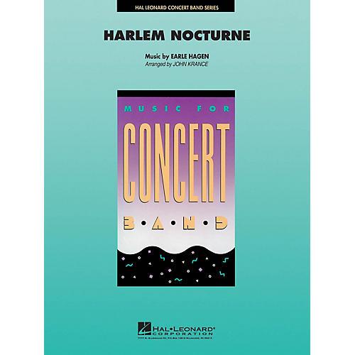 Hal Leonard Harlem Nocturne Concert Band Level 4-5 Arranged by John Krance-thumbnail