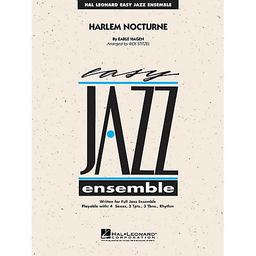 Hal Leonard Harlem Nocturne Jazz Band Level 2 Arranged by Rick Stitzel-thumbnail