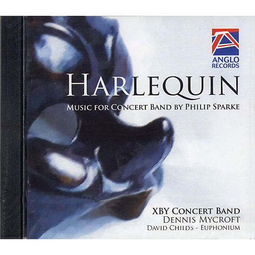 Anglo Music Press Harlequin (Anglo Music Press CD) Concert Band Composed by Philip Sparke