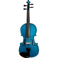 Stentor Harlequin Series Violin Outfit 1/2 Outfit Blue