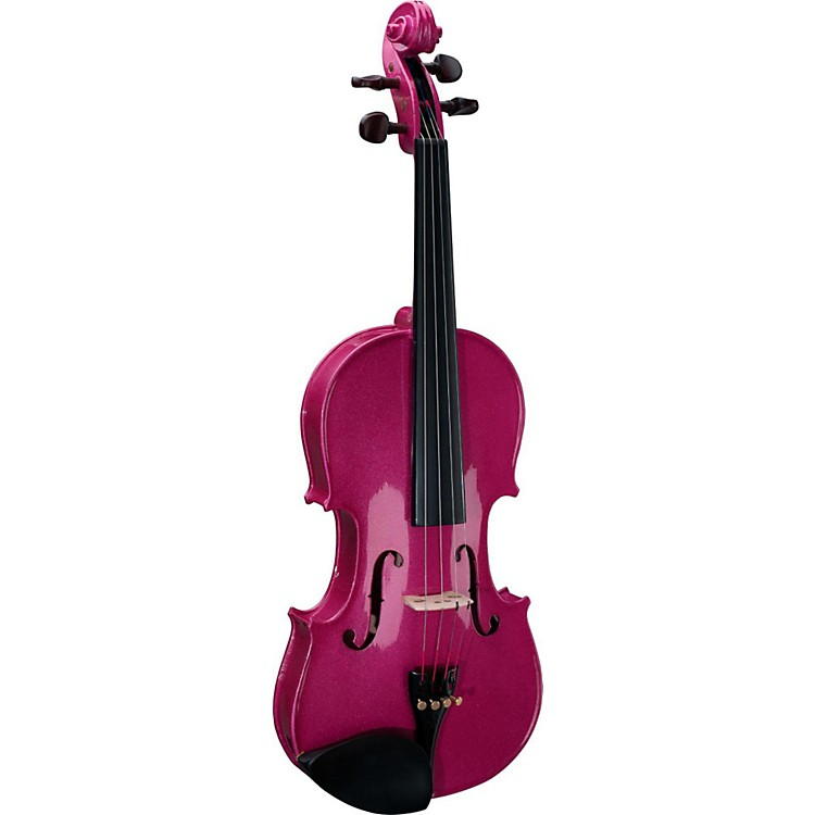 Stentor Harlequin Series Violin Outfit 1/2 Outfit Pink