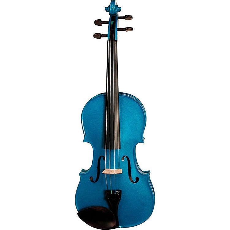Stentor Harlequin Series Violin Outfit 3/4 Outfit Blue