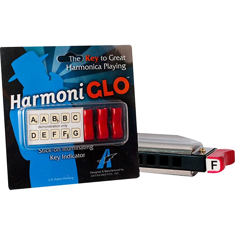 Turbo HarpHarmoniGlo Illuminating Key Indicator
