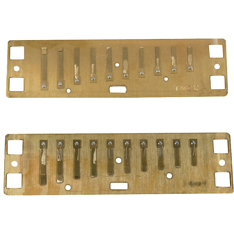 Lee Oskar Harmonic Minor Reed Plates  C# MINOR