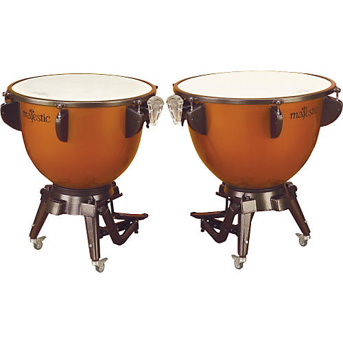 Majestic Harmonic Series Timpani Set Of 2 Concert Drums-thumbnail
