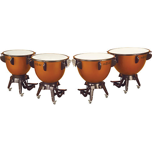 Majestic Harmonic Series Timpani Set Of 4 Concert Drums-thumbnail