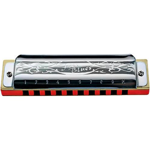 Hering Harmonicas 7020 Free Blues Diatonic Harmonica-thumbnail