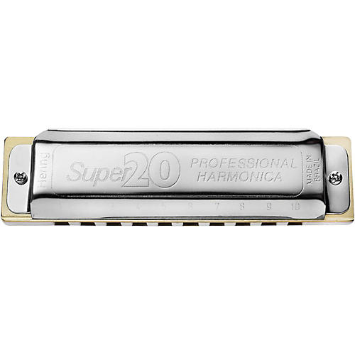 Hering Harmonicas 8020 Super 20 Diatonic Harmonica-thumbnail