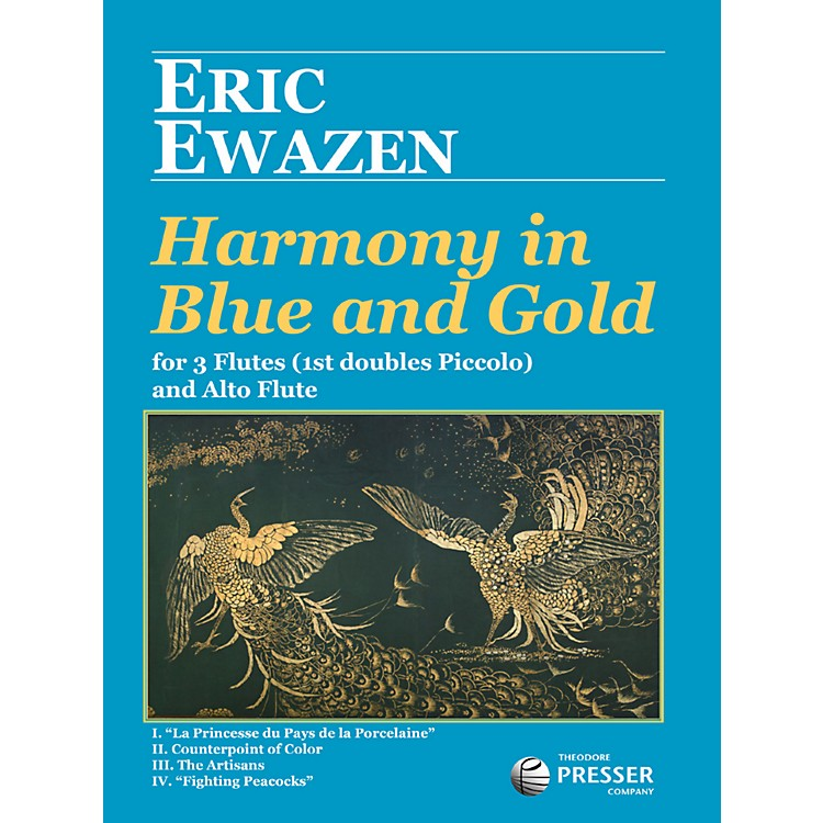 Theodore PresserHarmony In Blue And Gold (Book + Sheet Music)