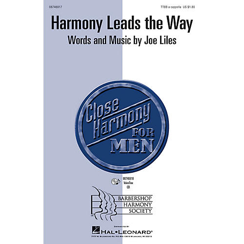 Hal Leonard Harmony Leads the Way VoiceTrax CD Composed by Joe Liles-thumbnail