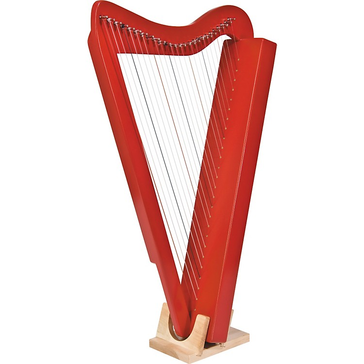 Rees Harps Harpsicle Harp Red