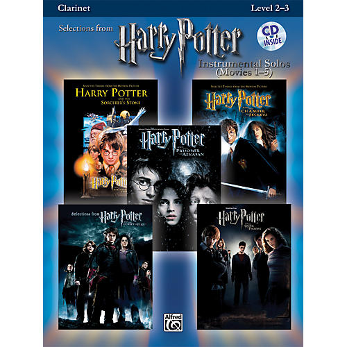 Alfred Harry Potter Instrumental Solos - Movies 1-5 Clarinet