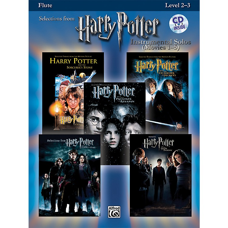 AlfredHarry Potter Instrumental Solos - Movies 1-5Flute