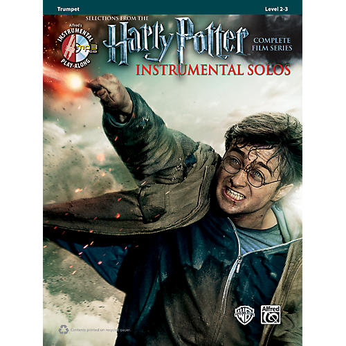 Alfred Harry Potter Instrumental Solos for Trumpet - Book/CD