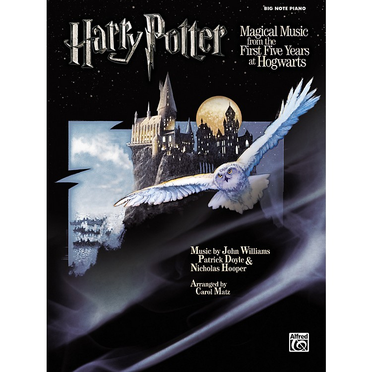 Alfred Harry Potter Magical Music Big Note Piano