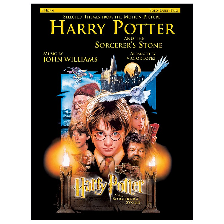 AlfredHarry Potter Sorcerers Stone for French Horn Book