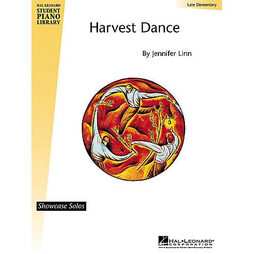 Hal Leonard Harvest Dance (Late Elem Showcase Solo) Piano Library Series by Jennifer Linn
