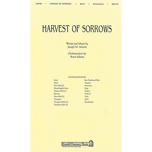 Shawnee Press Harvest of Sorrows Score & Parts composed by Joseph M. Martin-thumbnail