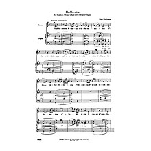 Transcontinental Music Hashkivenu SATB composed by Max Helfman