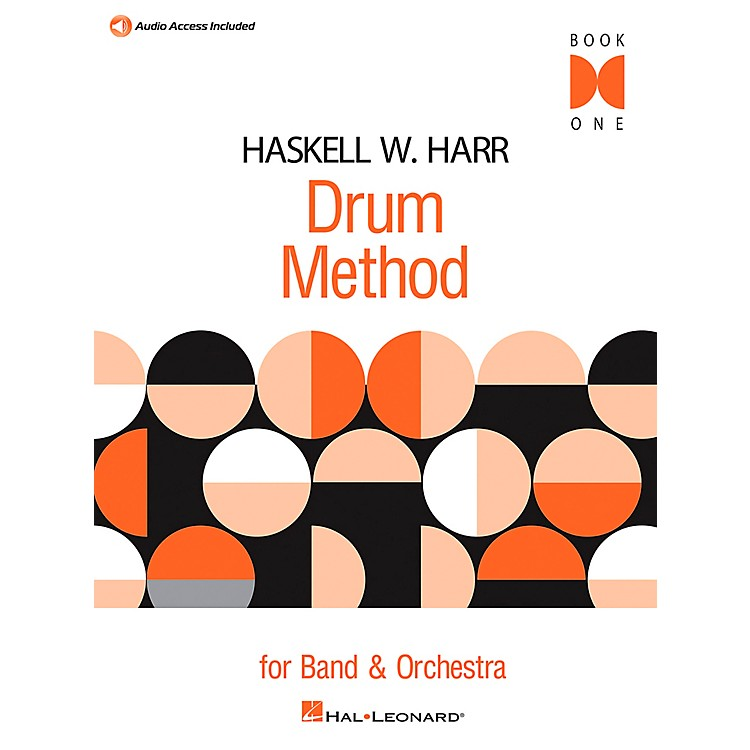 Hal Leonard Haskell W. Harr Drum Method Book 1 with CD