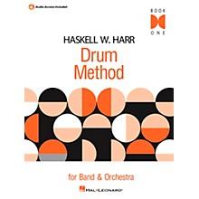 Hal Leonard Haskell W. Harr Drum Method Book 1 with Online Audio