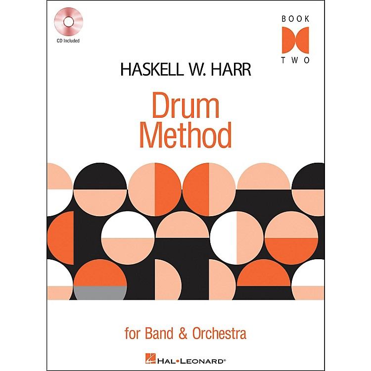 Hal LeonardHaskell W. Harr Drum Method Book 2 Book/CD for Band & Orchestra