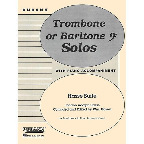 Rubank Publications Hasse Suite (Trombone Solo with Piano - Grade 4) Rubank Solo/Ensemble Sheet Series-thumbnail