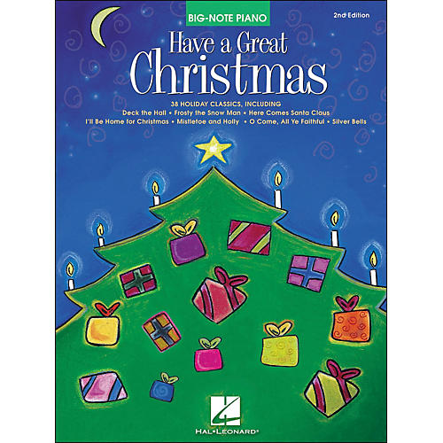 Hal Leonard Have A Great Christmas 2nd Edition for Big Note Piano