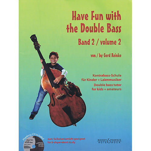 Bote & Bock Have Fun with the Double Bass Series Softcover with CD by Gerd Reinke-thumbnail