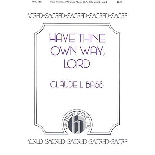 Hinshaw Music Have Thine Own Way, Lord SSA-thumbnail