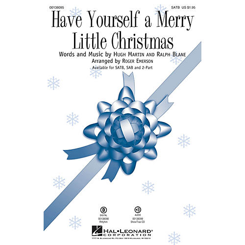 Hal Leonard Have Yourself a Merry Little Christmas SATB arranged by Roger Emerson-thumbnail