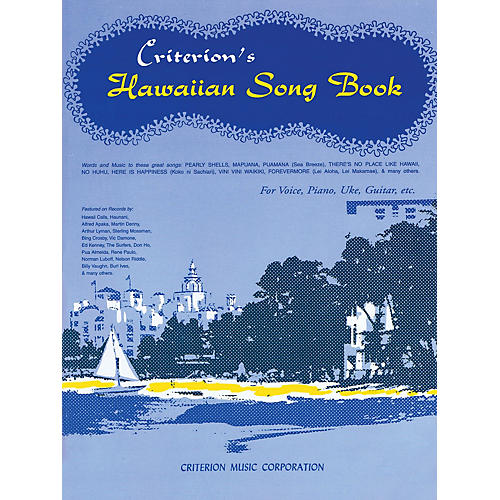 Criterion Hawaiian Song Book Criterion Series Softcover-thumbnail