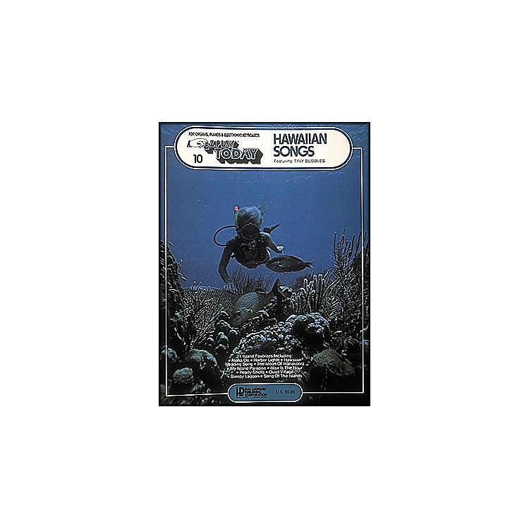 Hal LeonardHawaiian Songs E-Z Play 10
