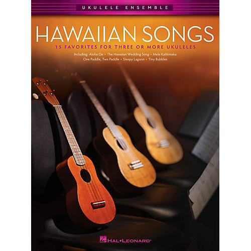 Hal Leonard Hawaiian Songs Ukulele Ensemble Series Softcover-thumbnail