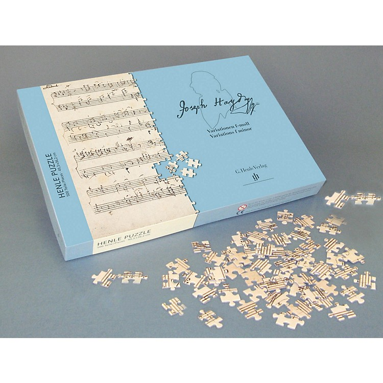 G. Henle Verlag Haydn - Variations F-Minor 500-Piece Puzzle