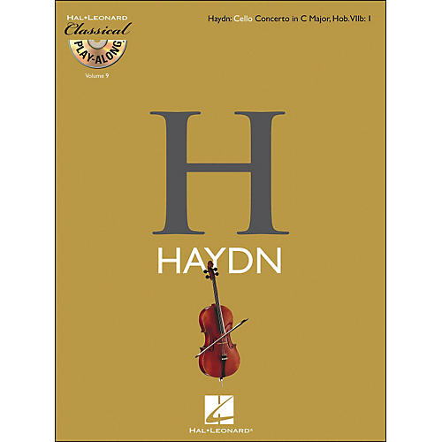 Hal Leonard Haydn: Cello Concerto In C Major, Hob. Viib: 1 Classicalplay-Along Book/CD Vol. 9