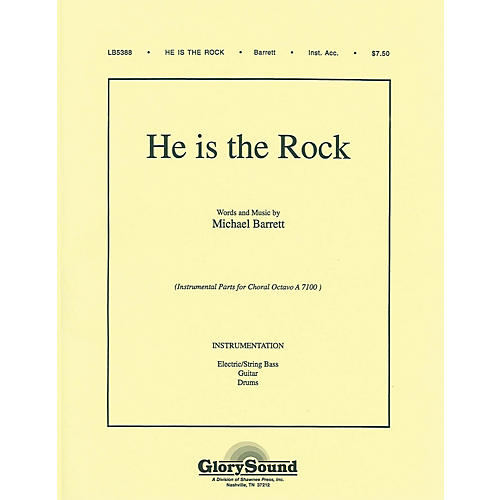Shawnee Press He Is the Rock IPAKB composed by Michael Barrett-thumbnail