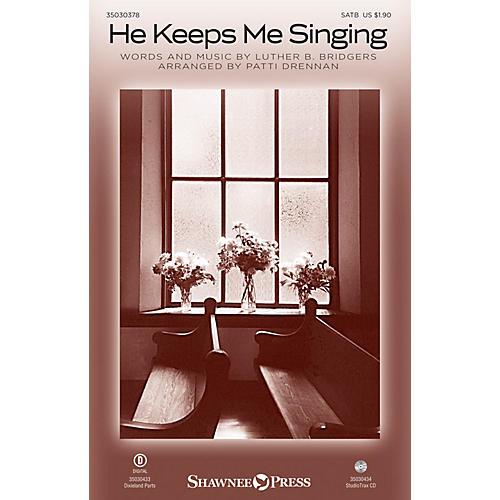 Shawnee Press He Keeps Me Singing Studiotrax CD Arranged by Patti Drennan-thumbnail