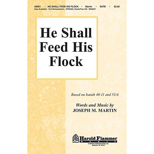 Hal Leonard He Shall Feed His Flock (SATB)