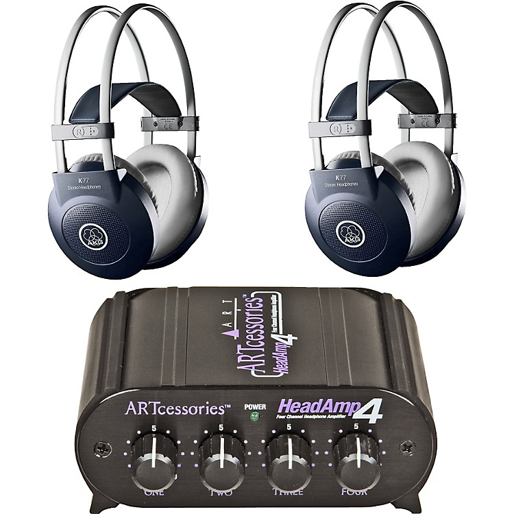 AKG Headamp 4/K77 Headphone Two Pack