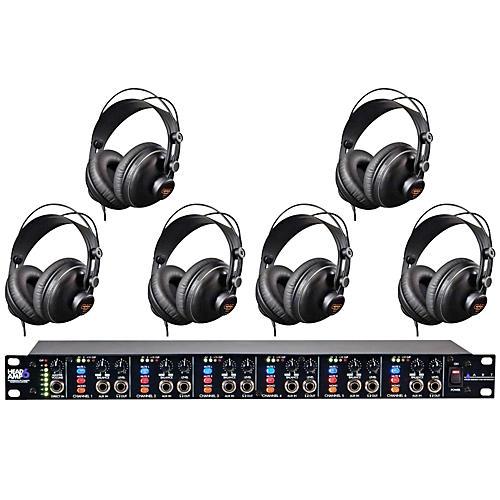 ART Headamp6 and MH310 Headphone Package (6-Pack)