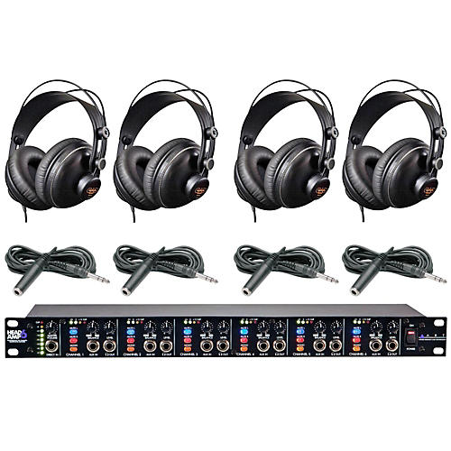 ART Headamp6 and MH310 Headphone Package Plus (4-Pack)